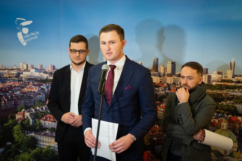 Piotr Grzelak, zastępca prezydenta Gdańska, mówił także jako przewodniczący zespołu ds. gospodarki odpadami Unii Metropolii Polskich