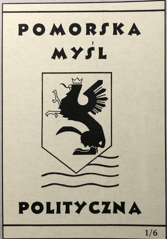 Okładka wydanej w Londynie w 1945 roku broszury Lecha Bądkowskiego