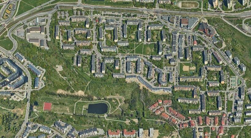 Rejon, którego projektu planu miejscowego dotyczy