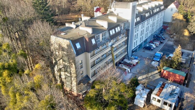Rozpoczął się drugi etap gruntownego remontu Domu Pomocy Społecznej 'Polanki'