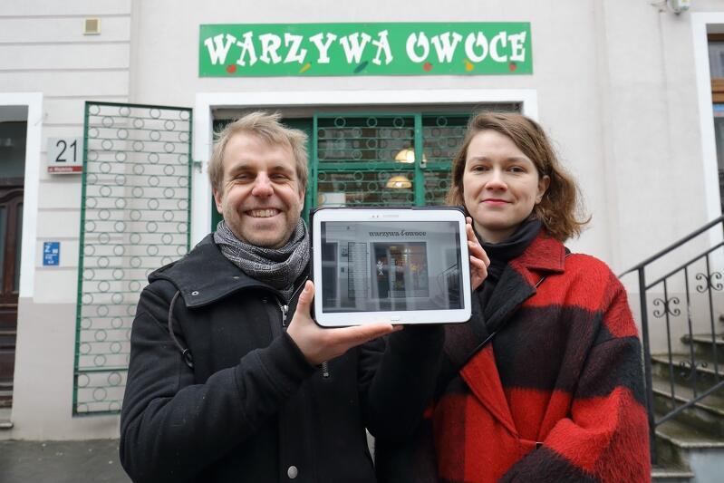 Projekt Gdańska Szkoła Szyldu realizują - Fundacja Palma, której założycielami są Jakub Knera i Natalia Koralewska (na zdj.) oraz Gdański Zarząd Dróg i Zieleni