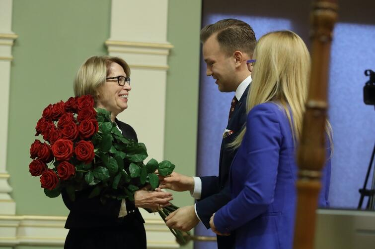 Podczas styczniowej sesji radni oficjalnie pożegnali wieloletnią Skarbnik Gdańska Teresę Blacharską