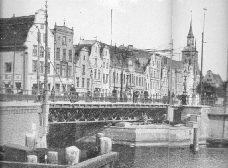 Most Stągiewny, fotografia z 1904 r.