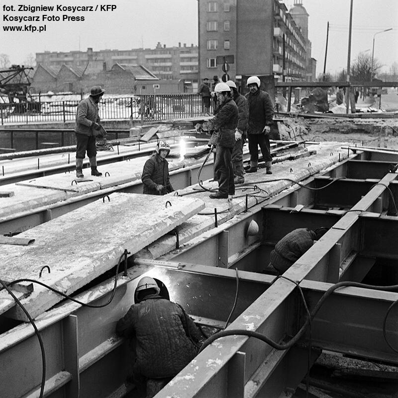 Współczesny Most Stągiewny powstał ponad 40 lat temu