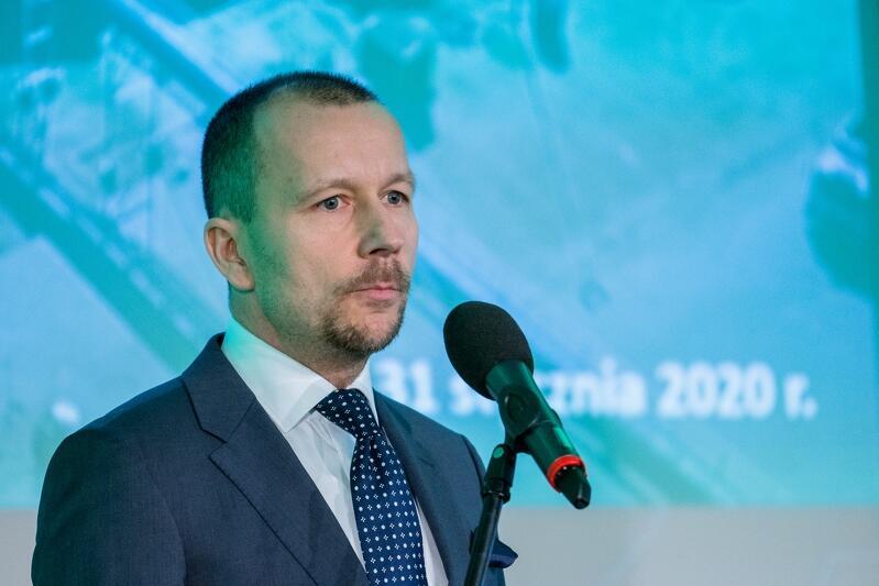 Michał Dzioba prezes zarządu Zakłady Utylizacyjnego w Gdańsku