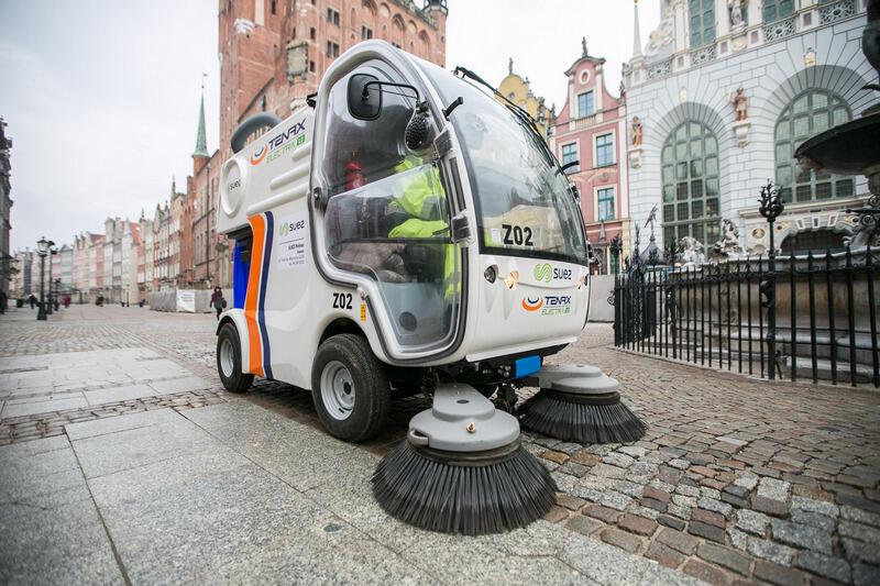 W 2019 roku oczyszczono drogi oraz miejską infrastrukturę o łącznej powierzchni ponad 50 milionów m kw.