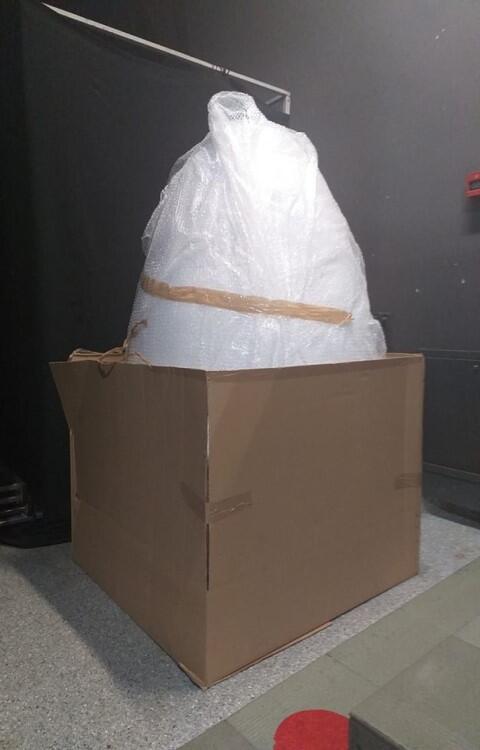 Wielkie jajo już wylądowało - pisanka dotarła do Stacji Orunia GAK. Teraz rozpocznie się ozdabianie