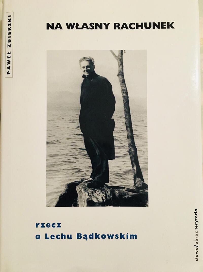 """Okładka książki Pawła Zbierskiego """"Na Własny rachunek"""", wydanej w 2004 r."""