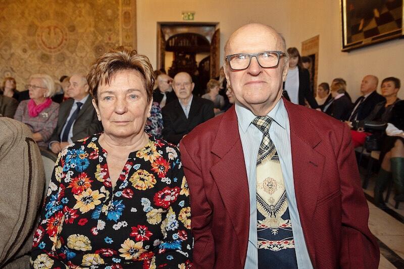 Nz. Wanda i Aleksander Szultowie, którzy świętują w tym roku 55. rocznicę ślubu