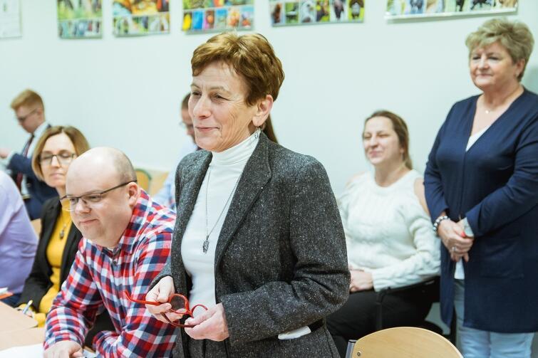 W imieniu Rady dzielnicy głos najczęściej zabierała przewodnicząca Zarządu Olszynki Jadwiga Kubik
