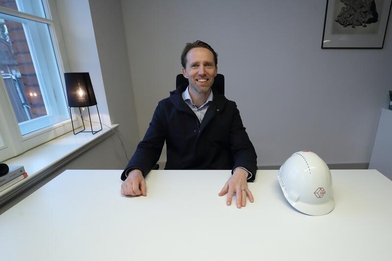 Gerard Schuurman, dyrektor projektu Stocznia Cesarska już cieszy się na nowe życie pierwszego rewitalizowanego w Stoczni budynku