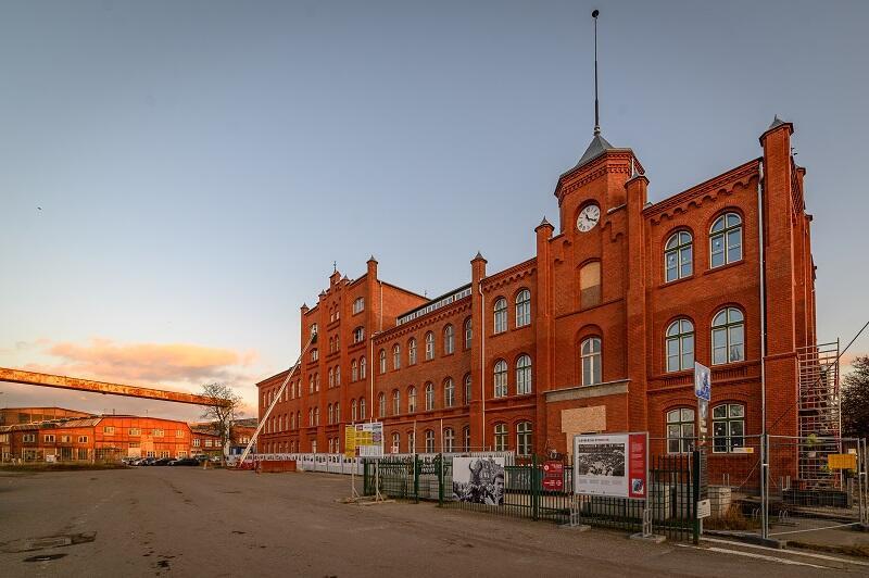 Budynek Dyrekcji Stoczni Gdańskiej, luty 2020 r.