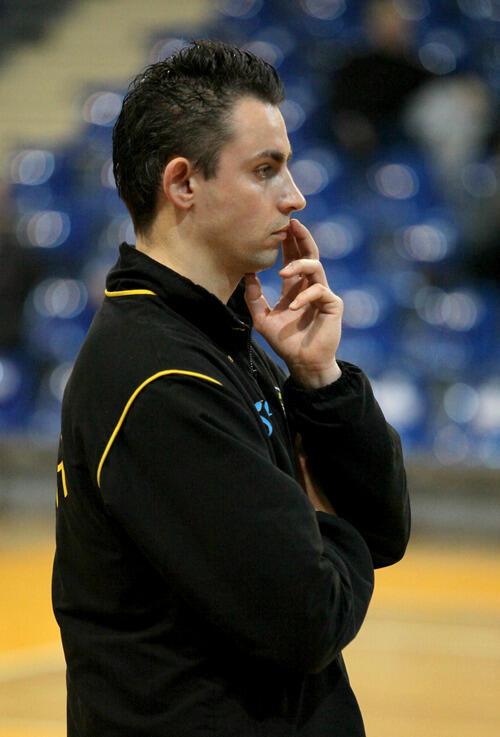 Marzec 2010 roku, Trener Edward Pawlun w roli trenera siatkarek Trefla Sopot