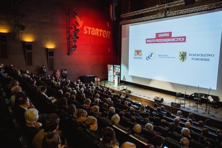 Gala konkursu odbyła się w audytorium Europejskiego Centrum Solidarności