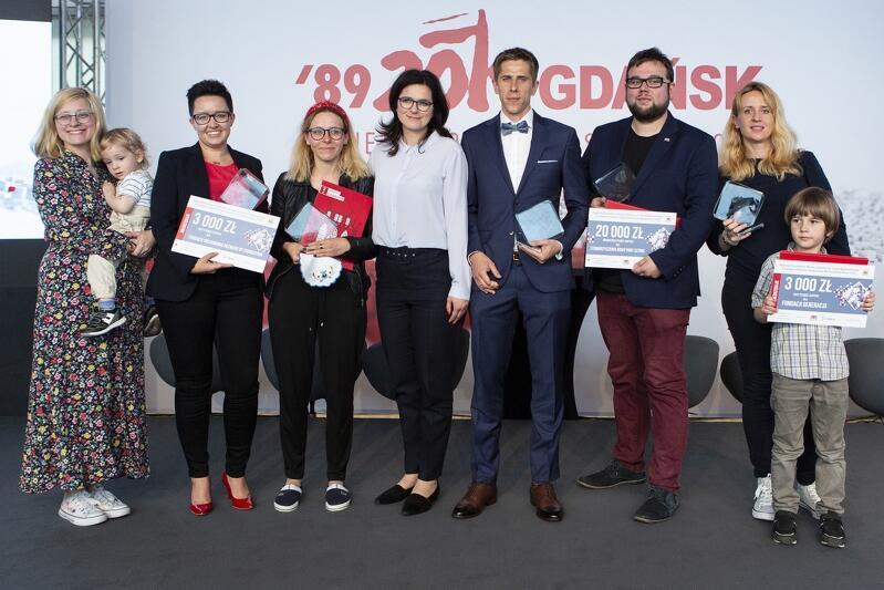 Laureaci nagrody im. Lecha Bądkowskiego dla najlepszych organizacji pozarządowych za rok 2018