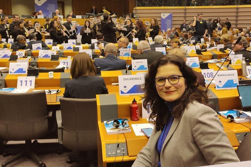 Prezydent Dutkiewicz weszła w skład dwóch komisji Komitetu: CIVEX oraz ECON