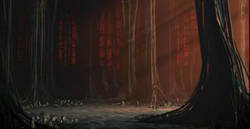 Kadry z filmu `Katedra` Tomasza Bagińskiego, dla dr Agaty Kołodziejczyk filmowa katedra to katedra miłości