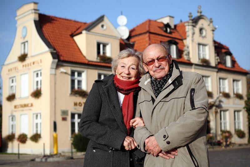 Halina Winiarska i Jerzy Kiszkis