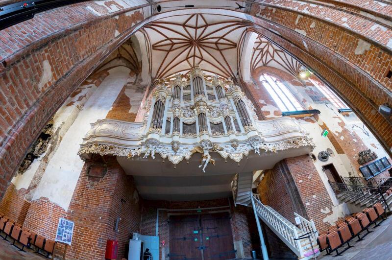 Organy w Kościele św. Jana były w XVIII-w najnowocześniejszym instrumentem tego typu w Europie