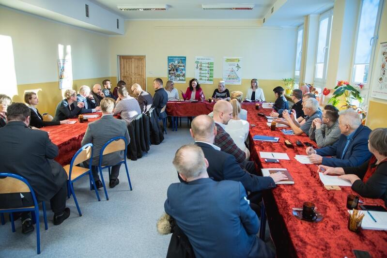 Radni poruszyli sporo kwestii, m.in. remontów dróg, planów wobec terenu przy ul. Czajkowskiego czy braku miejsc do rekreacji