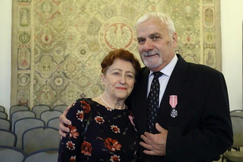 Złote gody obchodzili 19 lutego również Lilia i Bohdan Suwałowie, którzy uważają, że nie ma złotej recepty na dobry związek. - Najważniejszy w małżeństwie jest wzajemny szacunek - uważa pani Lilia