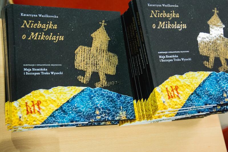 'Niebajka o Mikołaju' to książka - cegiełka, z której dochód przeznaczony będzie na ratowanie kościoła św. Mikołaja