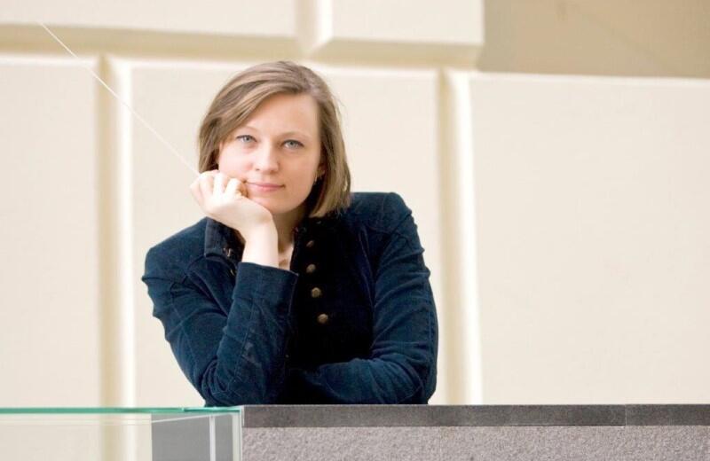 Anna Duczmal - Mróz. Maestro Eiji Oue, uczeń i przyjaciel Leonarda Bernsteina i Seijiego Ozawy powiedział o artystce: - Urodziła się, aby być dyrygentem