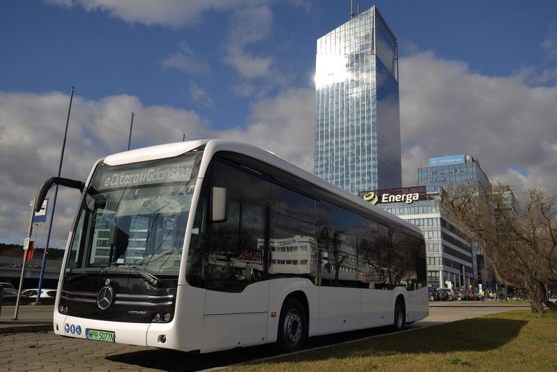 eCitaro, czyli elektryczny autobus będzie testowo jeździł po Gdańsku