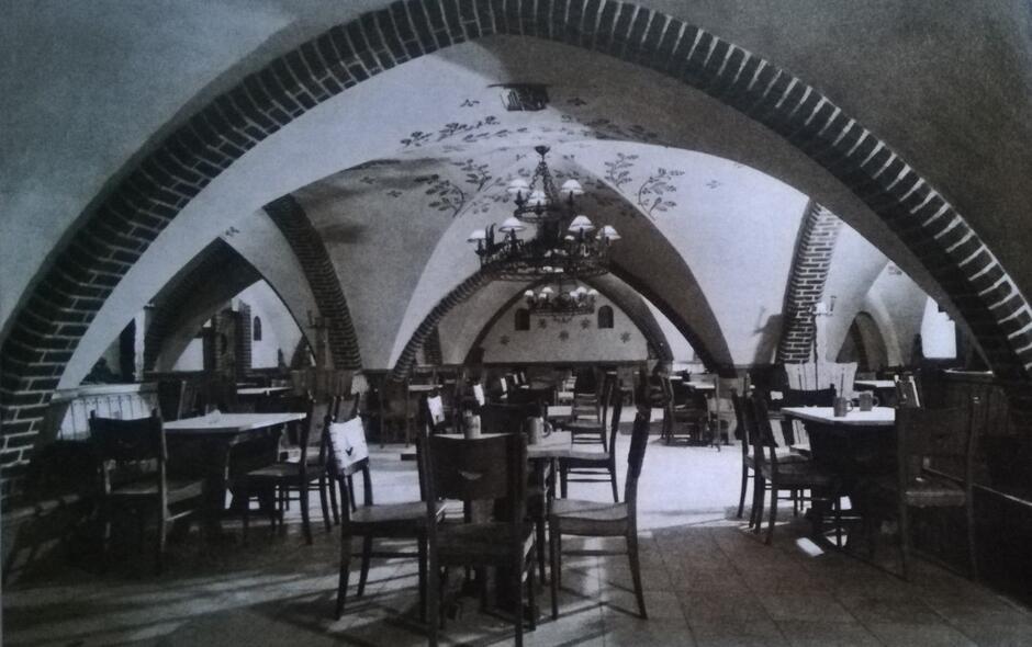 Wnętrze piwiarni