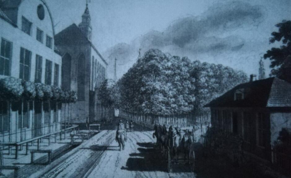 Daniel Chodowiecki, warta przy Bramie Oliwskiej, 1773