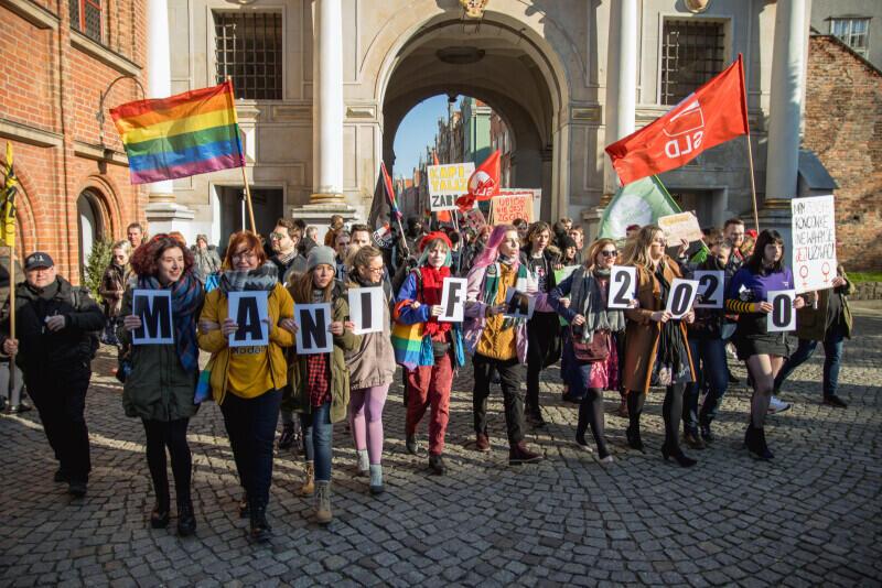 Manifę w Gdańsku zorganizowano po raz szesnasty