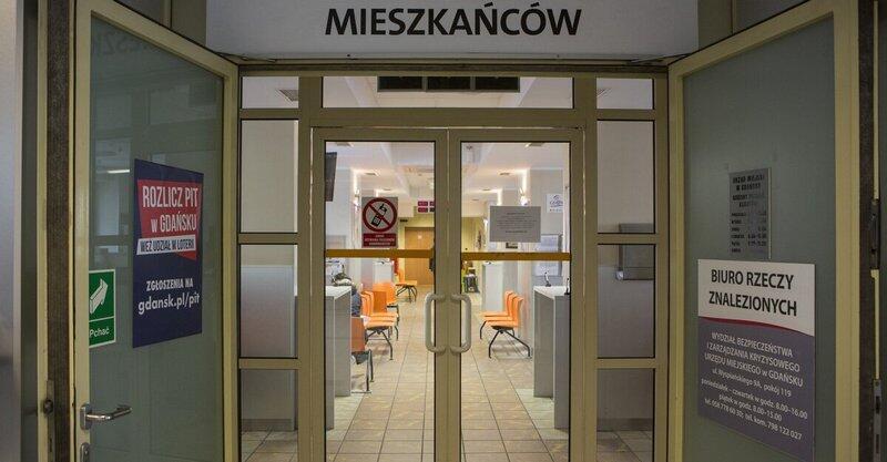 Obsługa klientów w Urzędzie Miejskim w Gdańsku czasowo będzie zawieszona od 16 marca
