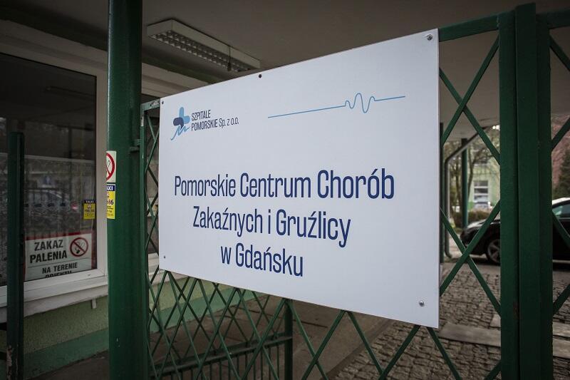 Pacjentki z Pomorza przebywają w Szpitalu Zakaźnym w Gdańsku