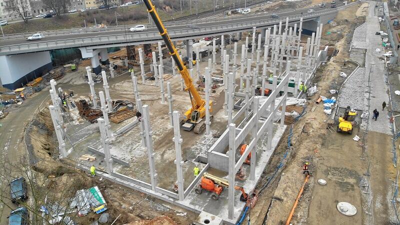 W związku z trwającą pandemią Dyrekcja Rozbudowy Miasta Gdańska prowadzi kontrole BHP na placach budowy na terenie całego miasta