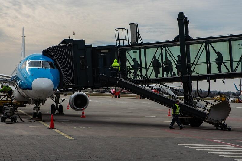 Jedyny samolot, który 16 marca 2020 r. wylądował na Lotnisku Gdańsk im. Lecha Wałęsy należy do KLM i odbywał tzw. lot repatriacyjny