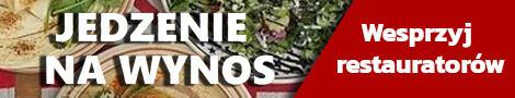 Jedzenie na wysnos - wesprzyj restauratorów