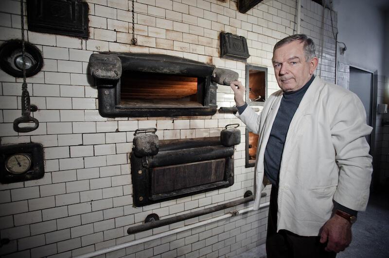 Ryszard Majchrowski - piekarz i właściciel piekarni na Dolnym Mieście, która organizuje konkurs