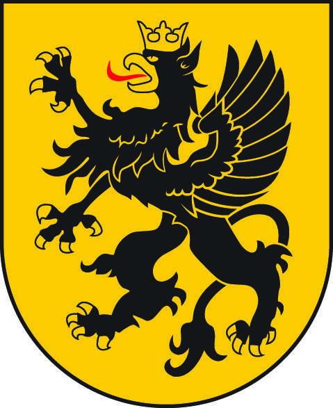 Godłem Kaszub jest czarny gryf w koronie, zwrócony w prawo. Gryf pojawił się już pod koniec XII wieku na pieczęciach władców Księstwa Pomorskiego (Gryfitów)