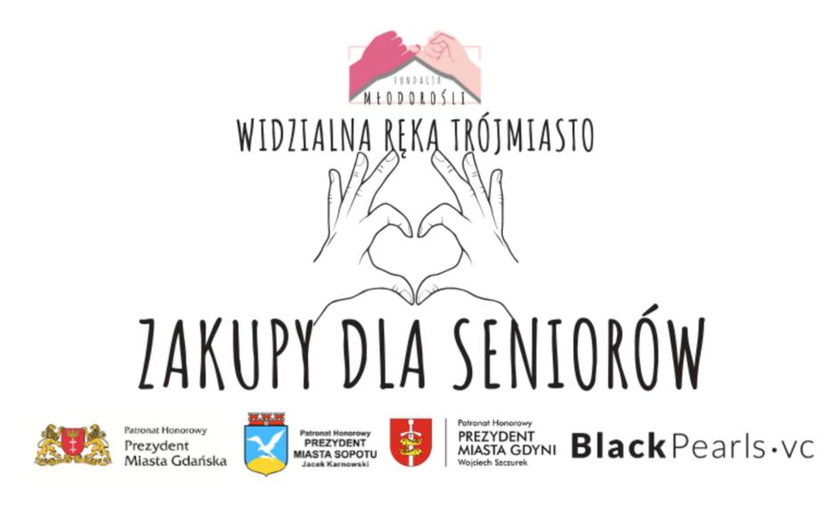 Plakat akcji Wesprzyj seniorów