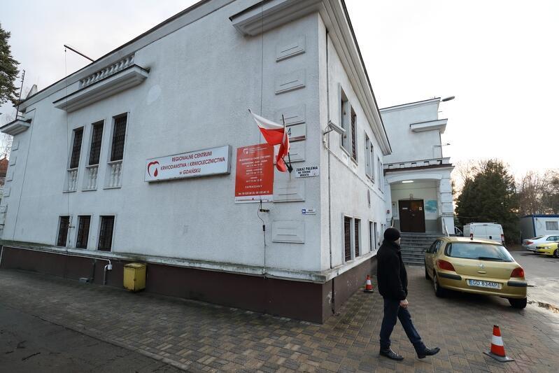 Siedziba Regionalnego Centrum Krwiodawstwa w Gdańsku