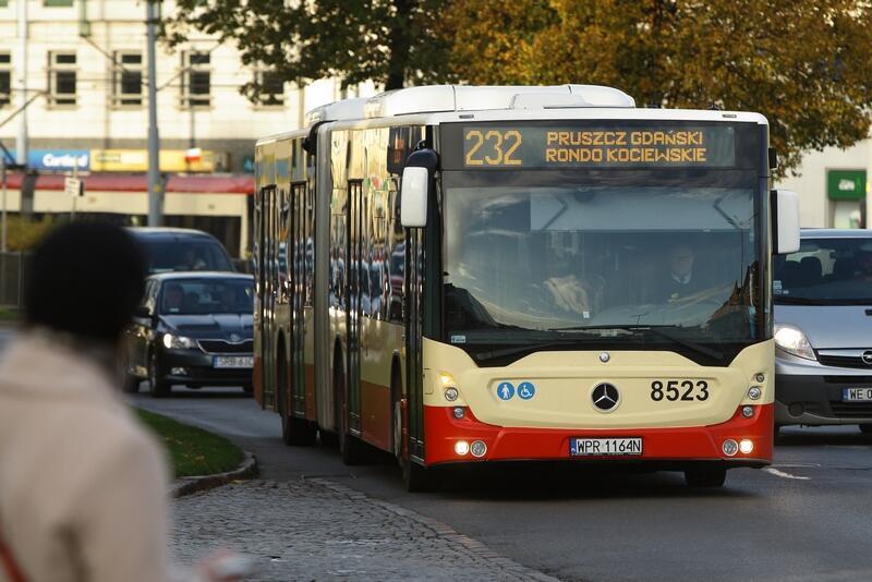 Autobus do Pruszcza Gdańskiego będzie jeździł co około 15 minut