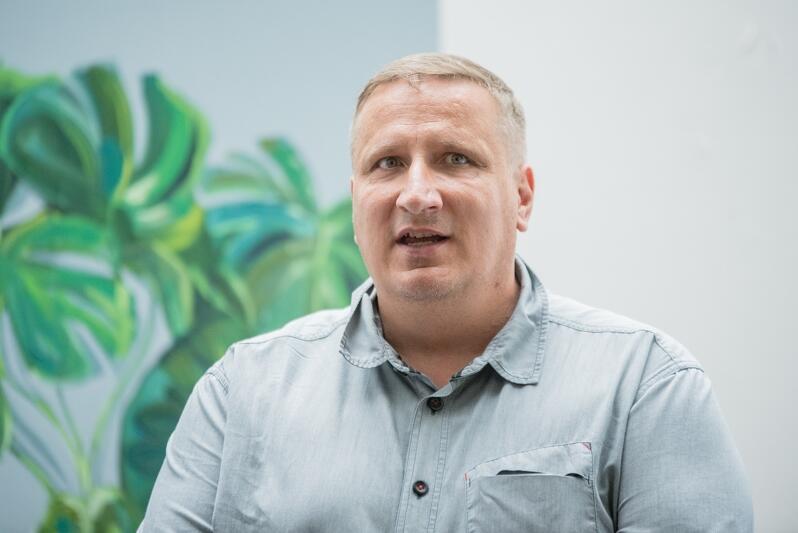 Wojciech Bystry prezes Towarzystwa Pomocy im. św. Brata Alberta w Gdańsku