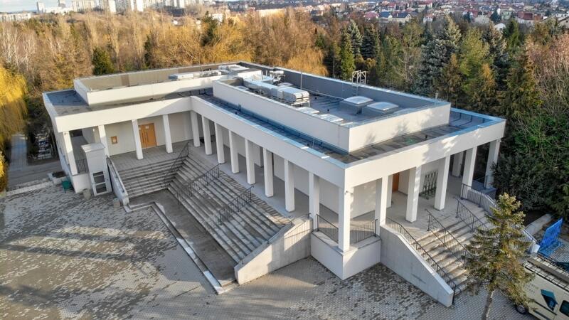 Kaplica na Cmentarzu Łostowickim