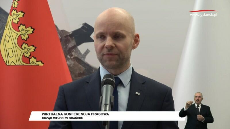 Alan Aleksandrowicz, zastępca miasta Gdańska ds. inwestycji: - Środki na funkcjonowanie instytucji kultury nie zostały ograniczone