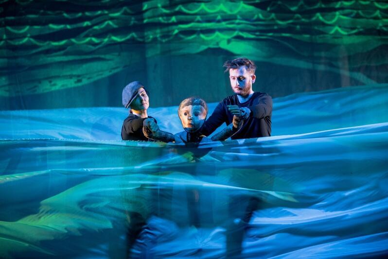Próba medialna Pinokia  w Teatrze Miniatura