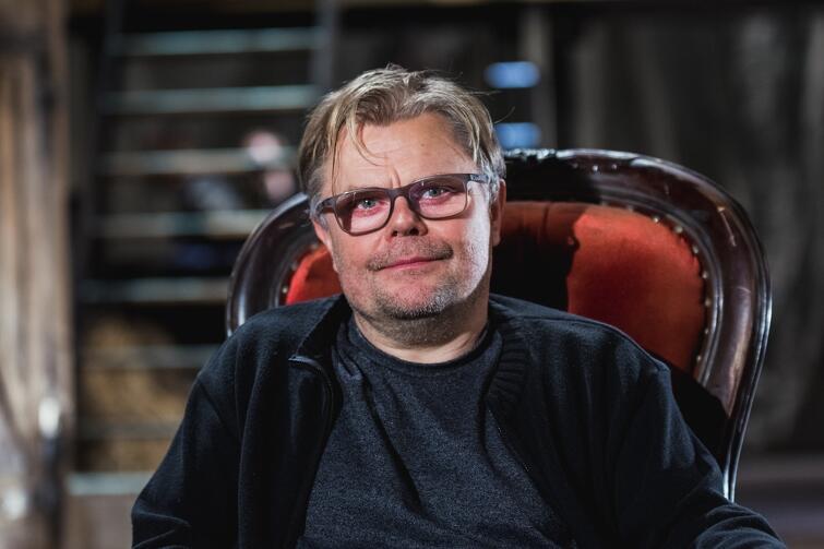 Paweł Aigner - reżyser spektaklu Karmaniola  w Teatrze Wybrzeże