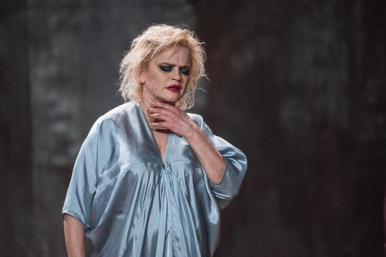 Katarzyna Figura jako Fedra