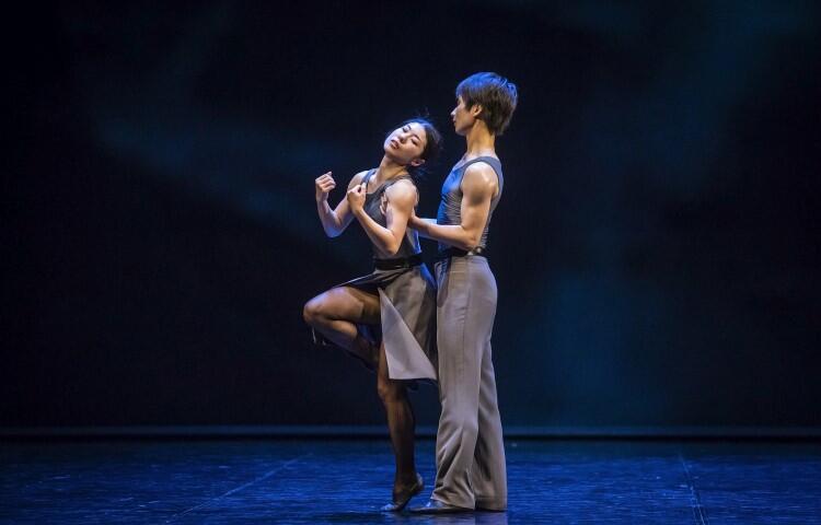 Opera Bałtycka, 22 czerwca 2019 r. Tancerze Sayaka Haruna-Kondracka i Yuto Mutai w spektaklu Wieczór latynoamerykański  w choreografii Mauricio Wainrota