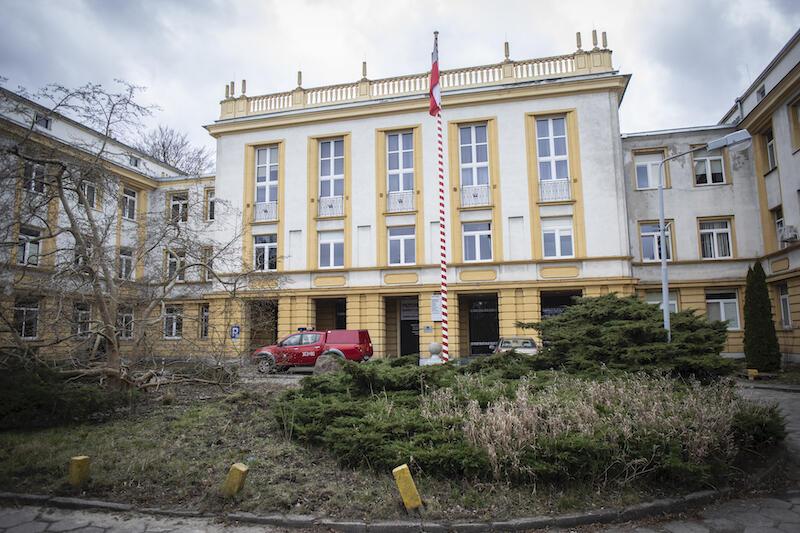 Szpital Marynarki Wojennej w Oliwie został przekształcony w szpital zakaźny w połowie marca br.