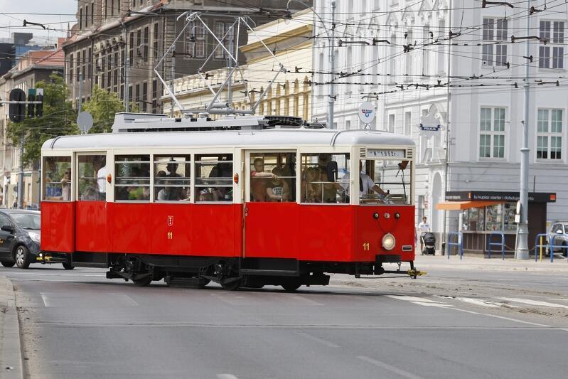 Konstal N - kultowy gdański tramwaj w wersji `prawdziwej`...